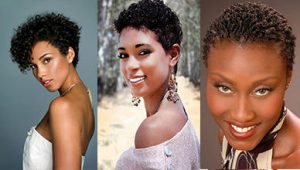 Short Natural Curly Hairstyles for Black Hair