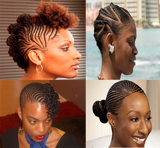 Natural braided hairstyles pictures