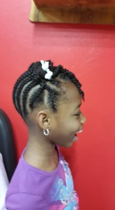 Natural Twist Hairstyles for Kids