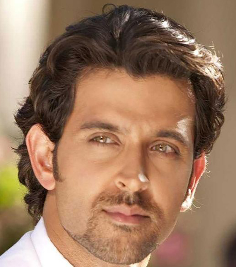 Picture: Hrithik Roshan long hairstyles with formal look (Bollywood Hairstyles for Men)