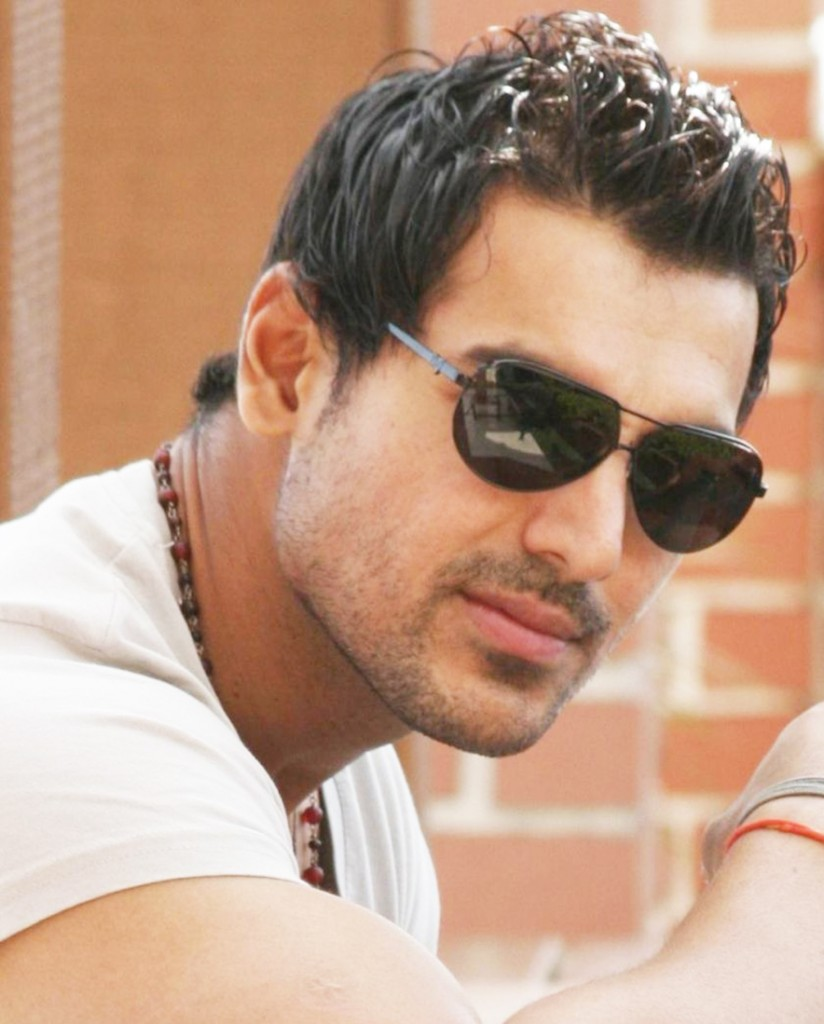 Picture: John Abraham's Short Hairstyles with Glasses