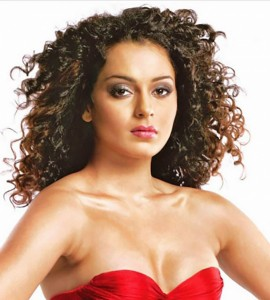 Picture: Kangana Ranaut Curly Hairstyles
