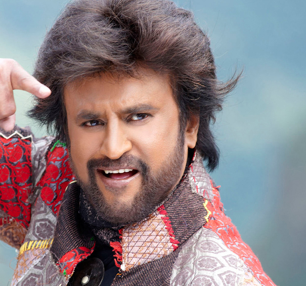 IMG: Rajinikanth's long and silky hairstyles