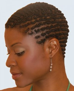 Picture: Natural Hairstyles for Swimming