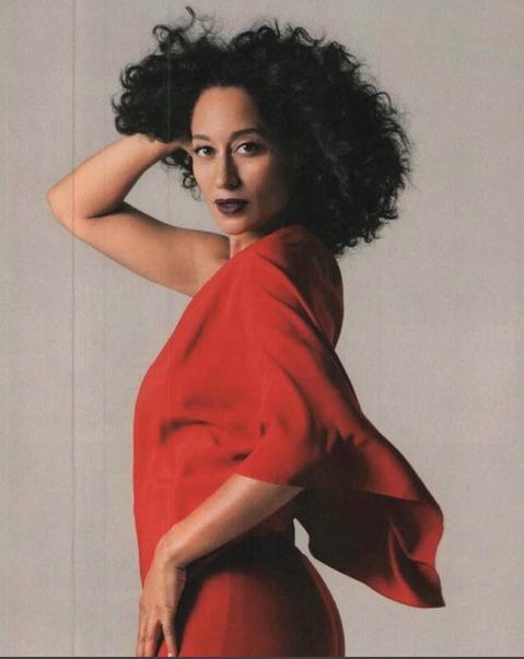 Tracee Ellis Ross Curly Hair Style