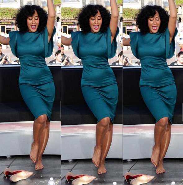 Tracee Ellis Ross weave hair styles