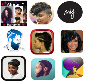 Top 10 Android Apps for Natural Hair Styles