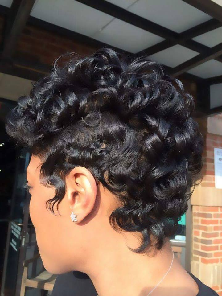 Lovely 10 Short Natural Hairstyles For Black Women New