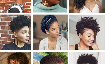 10 Easy Natural Hairstyles for Women