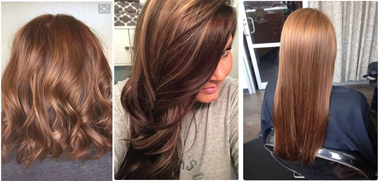 Uncovered Golden Color Hair for Girls