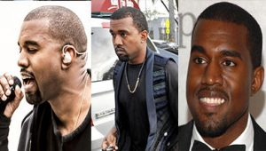 Kanye West Extra Short Natural Hairstyles