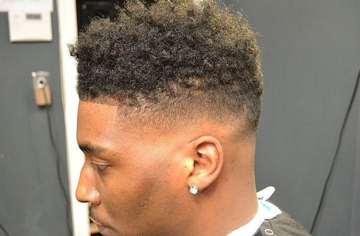 Hair Style U Cut: Black Men Curly Hairstyles