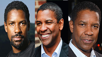 Denzel Washington Short Haircut