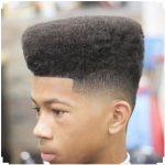 High Top Fade Natural Haircut for Kids