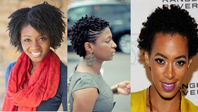 Popular 3 Short Black Natural Hairstyles for Black Women