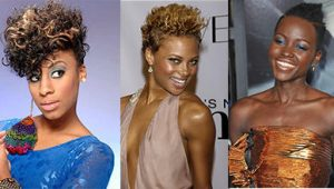 African American Short Natural Hairstyles for Women