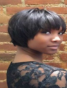 Black short bob hairstyles