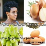 Grow Hair Faster Naturally in a Week