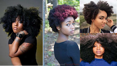 Inspire-able 13 Blonde & Black Afro Hairstyles