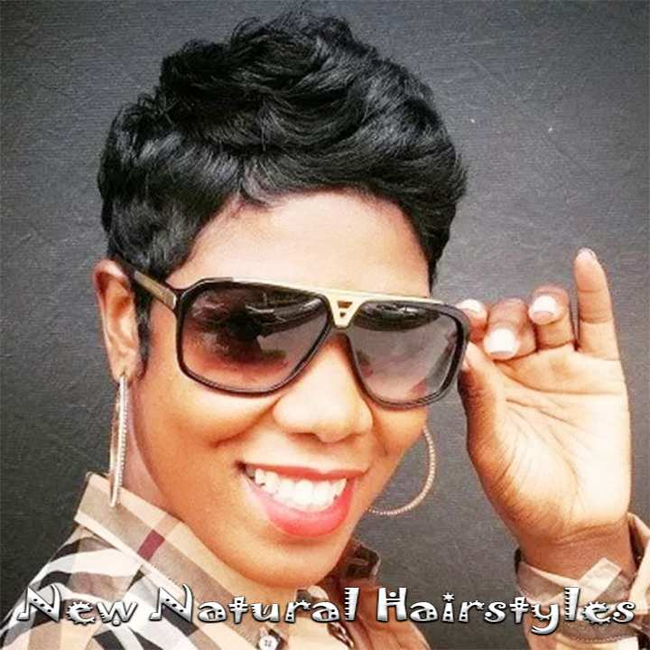 African American Hairstyles Braids-Weave Pixie for Short Hair