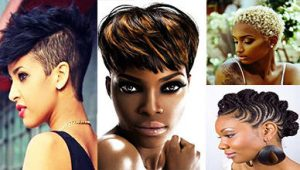 Effective 10 Short Natural Hairstyles for African American