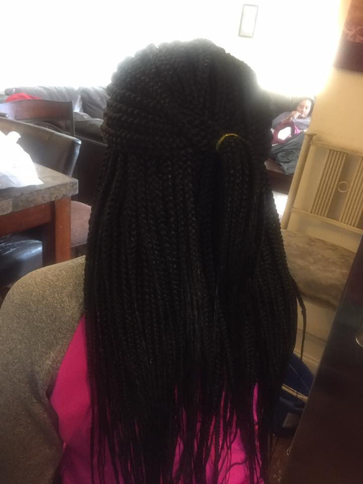 Box Braids for Black Women