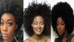 3 Short Black African American Afro Hairstyles