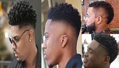 Curly Hairstyle Ideas for African American Men