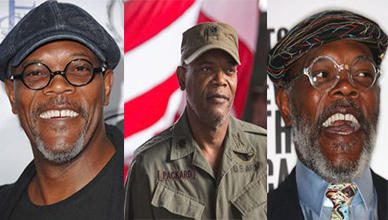 Samuel L. Jackson Style with a Cap