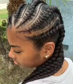 Feed in Braids with Rubber bands Method