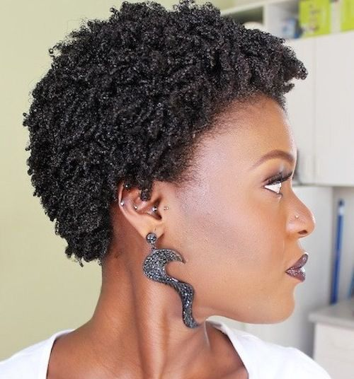 Best 6 Short Natural Hairstyles For Black Women New