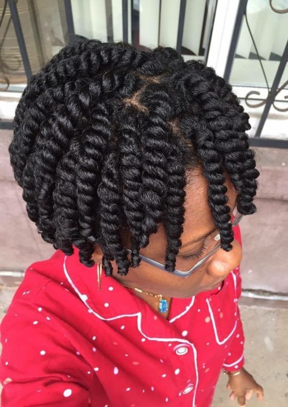Black Natural Hairstyles Twists