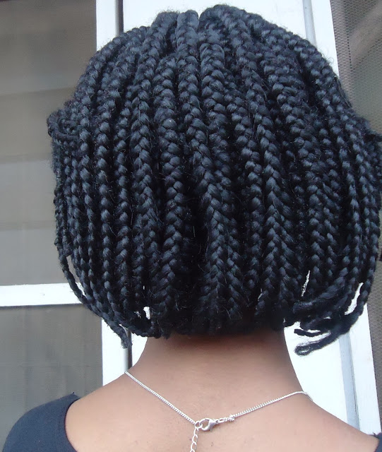 Black Box Braids Bob For African Women New Natural