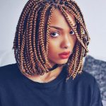 10 Eye-catching Box Braids Medium Pictures