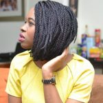 4 Superb Box Braids Bob for Medium Ages Women