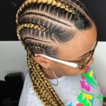 3 Colored Braided Hairstyles for Black Women