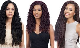 10 Attractive Faux Locs Crochet Hair