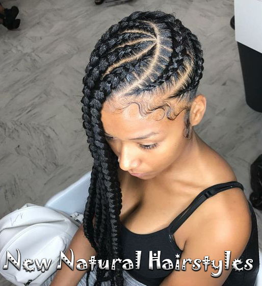 10 Lovely Braided Hairstyles For Black Women To Wear New Natural