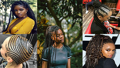 10 Lovely Braided Hairstyles for Black Women to Wear