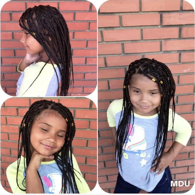 Pure Black Box Braids with Clips