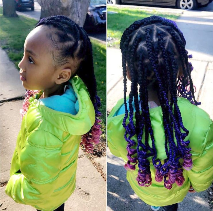 Pretty Box Braids for Pretty Girls