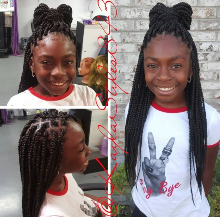 Easy 11 Box Braids Hairstyles For Kids Hairstyles
