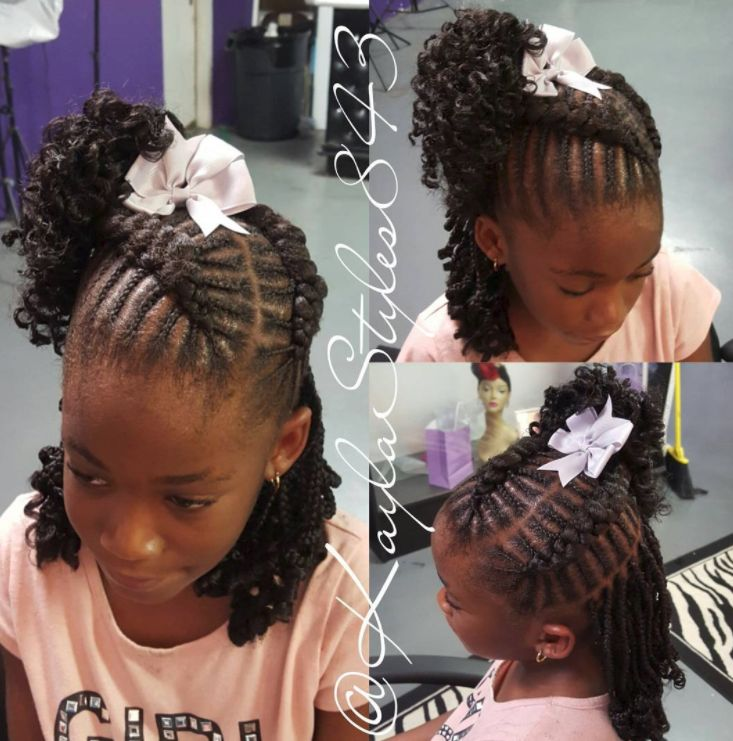 Lite Fade in Braids with Hair Band