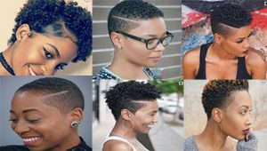 Trendy Short Natural Hairstyles for Black Women