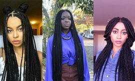8 Center-Parted Box Braids Hairstyles for You