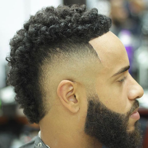 Remarkable Fade with Beard