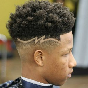 Clipper Fade with Short Curls