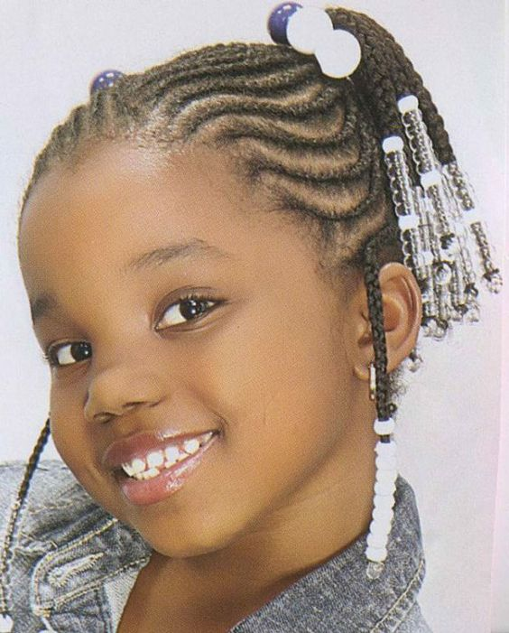 Braids with Beads for Medium Hair Kids