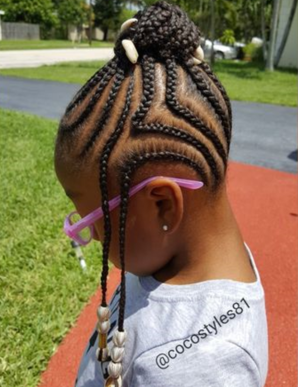Braids With Beads For Little Girl Hairstyles Amp Haircuts
