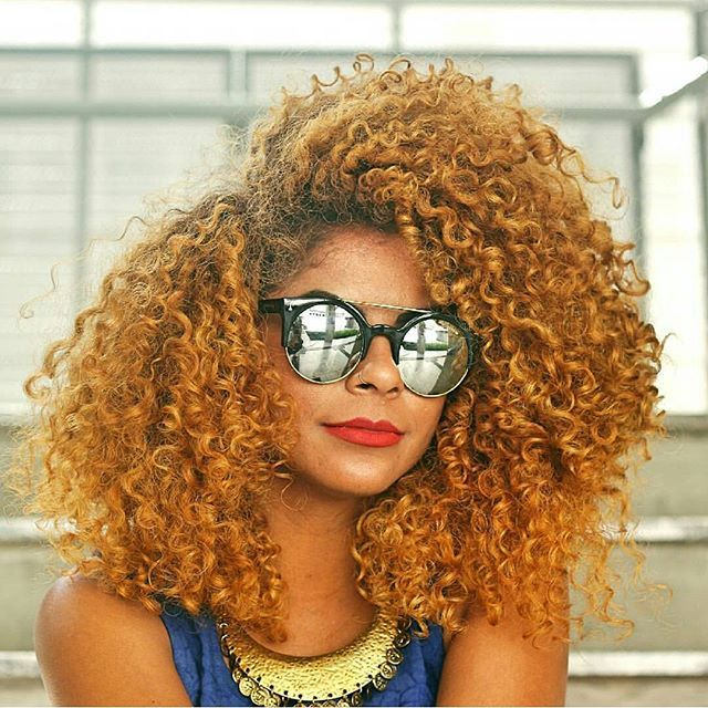 Medium Length Blonde Curly